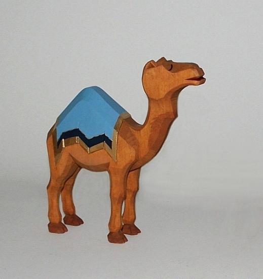 Sievers-Hahn Krippenfigur Kamel stehend,  16 cm hoch, Art. 1180
