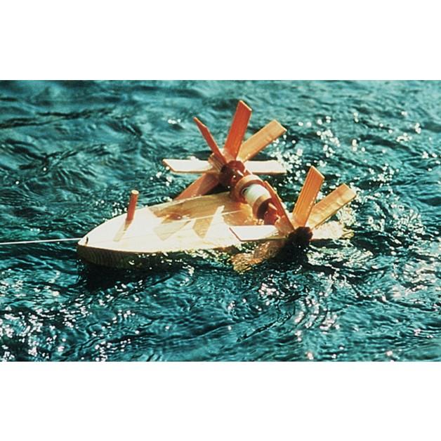 Kraul Forelle, Nr. 1000, das Schiff, das gegen die Strömung schwimmt