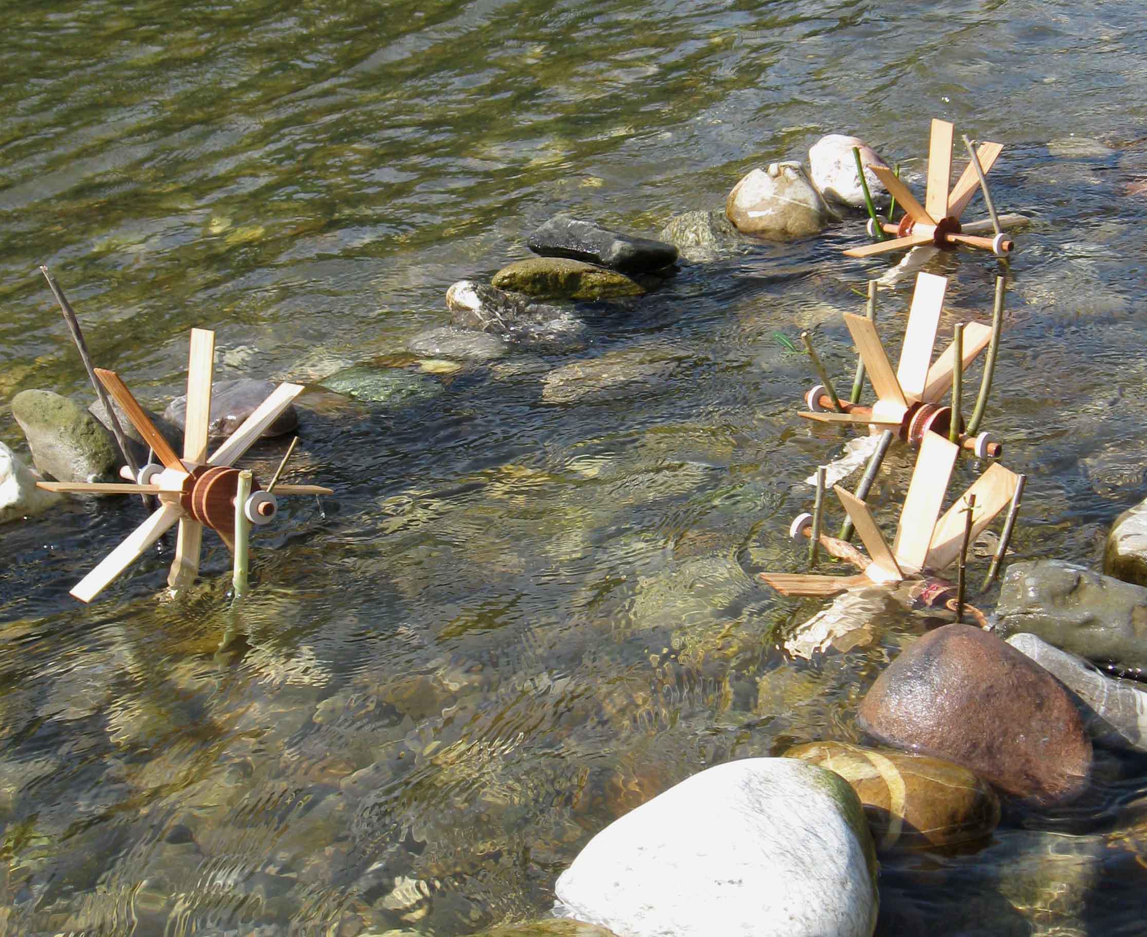 Kraul kleines Wasserrad, Nr. 1010, Rucksackwasserrad