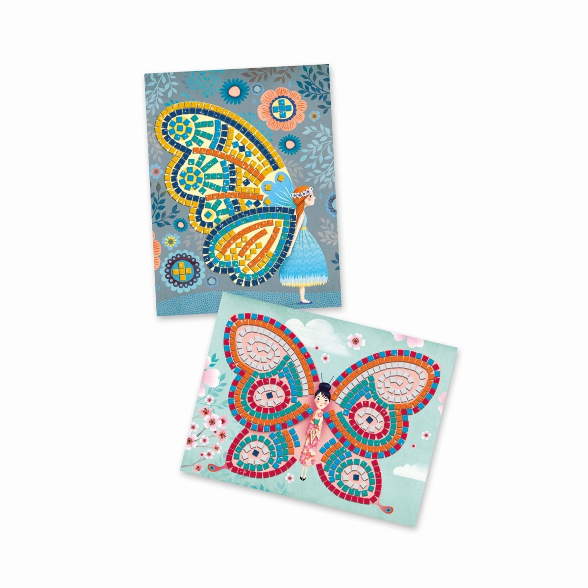 Djeco Mosaik: Glitzerschmetterlinge ab 5 Jahren