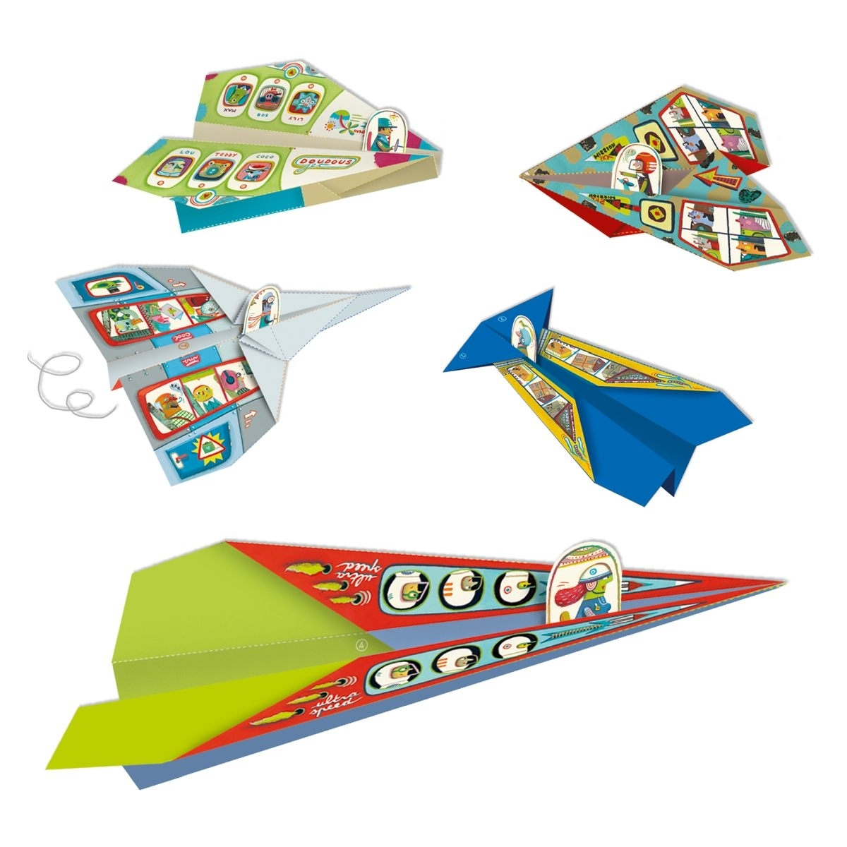 Djeco Papierflieger ab 7 Jahren