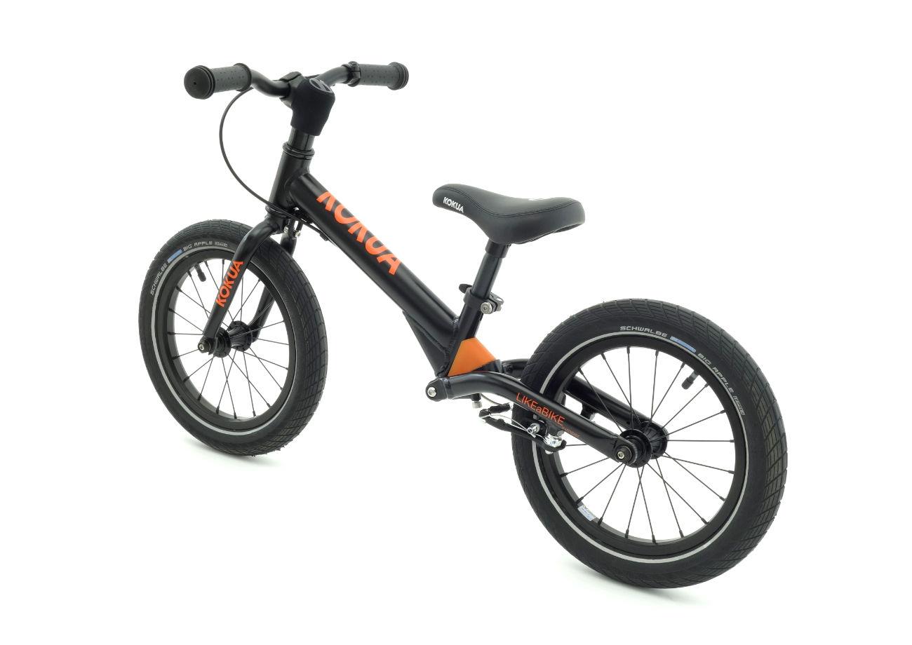 Neu Kokua LIKEaBIKE jumper 14  schwarz  Laufrad mit gefedertem Hinterbau