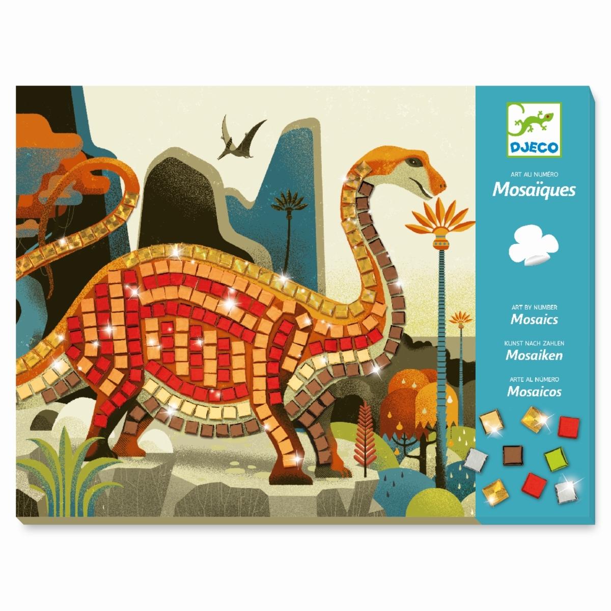 Djeco Mosaik: Dinosaurier ab 5 Jahren