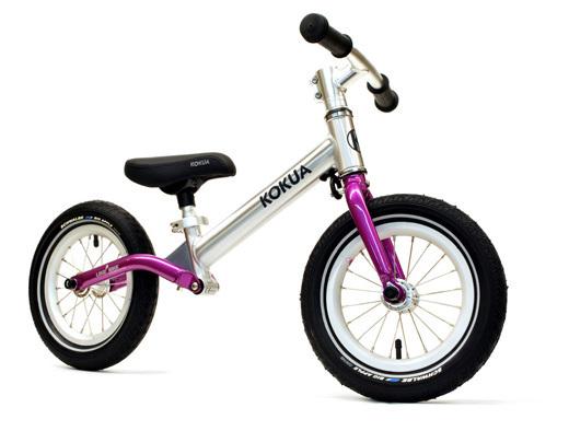 Kokua LIKEaBIKE jumper pink Laufrad mit kleinem Lackschaden, gefedertem Hinterbau und Alurahmen, 3400 g