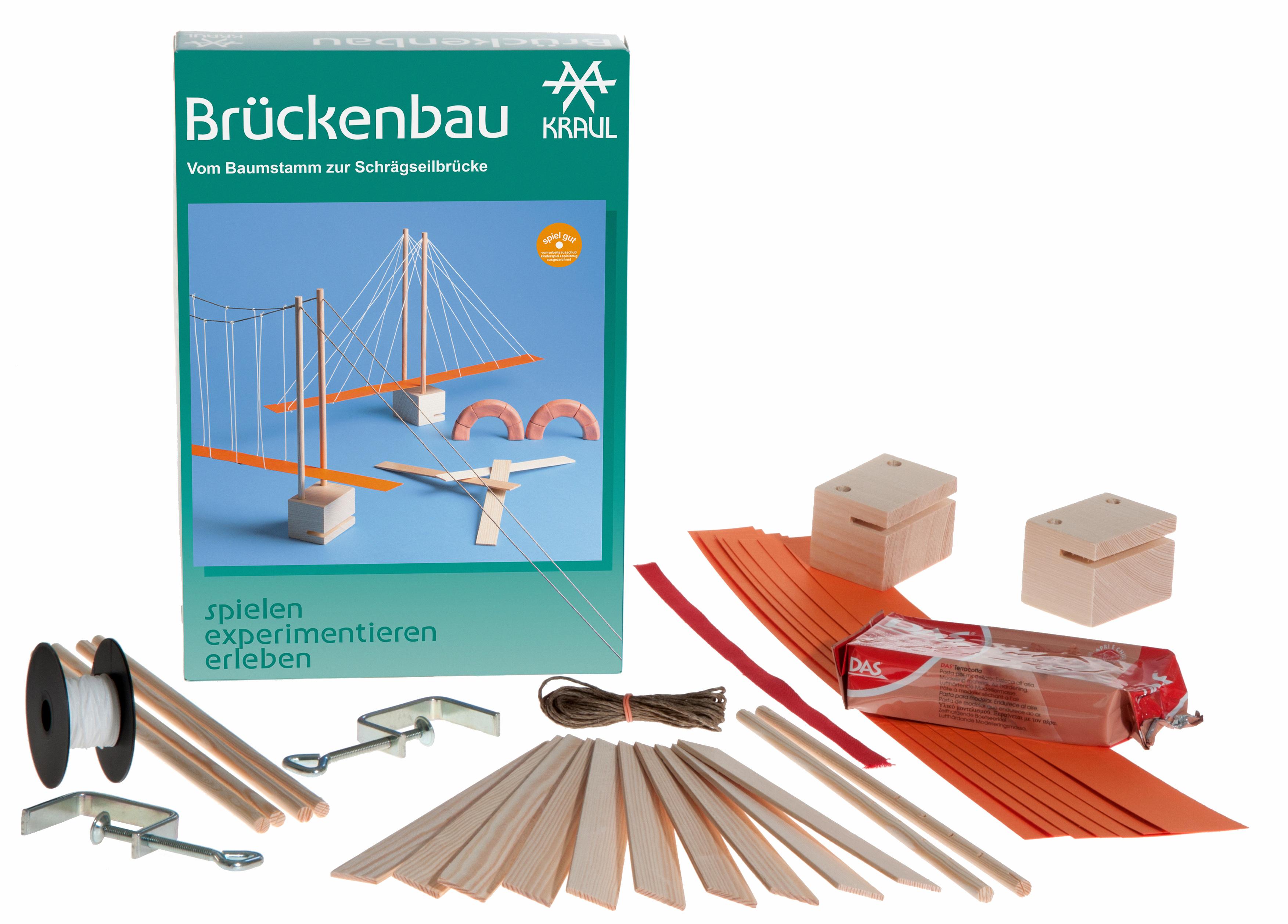 Kraul Brückenbau - Spielen Experimentieren und Erleben Nr. 5860